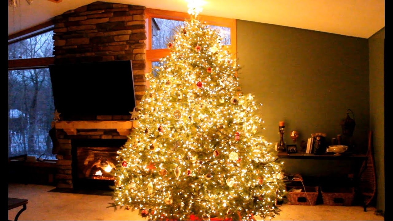 Wawra Christmas Tree Lights Show MIX 2014