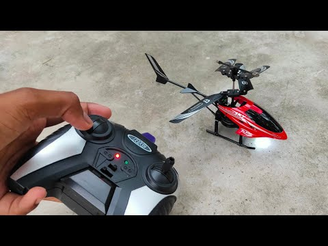 RC Helicopter Unboxing