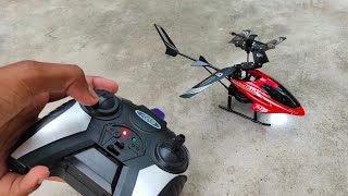 RC Helicopter Unboxing Remote Control Toy Satish tech
