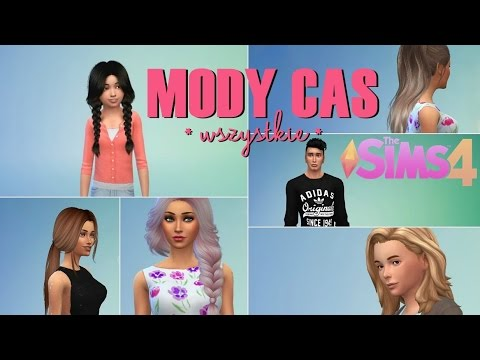 MOJE MODY CAS ♥ Sims 4   fryzury, ubrania, dodatki