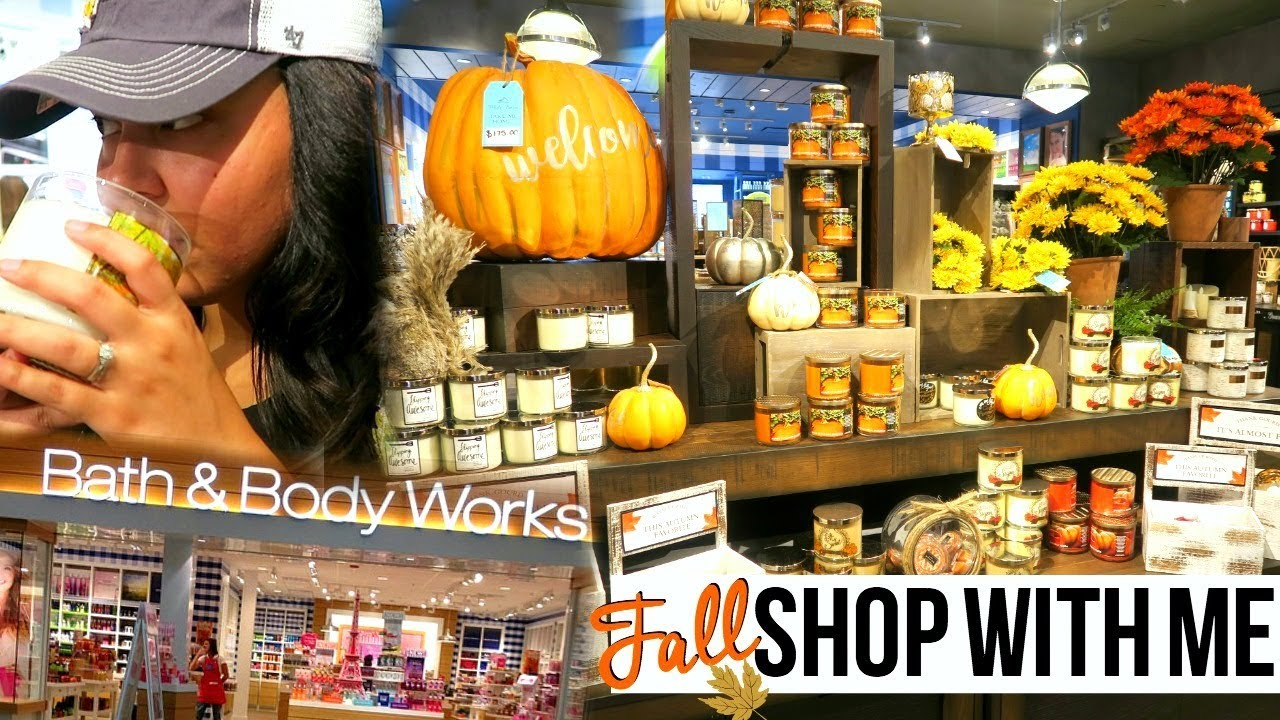 FALL BATH & BODY WORKS SHOP WITH ME 2017   FALL SHOP WITH ME SERIES ...
