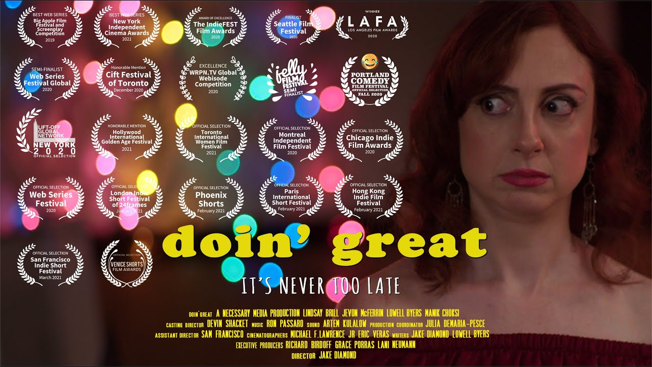 doin' great Official Trailer