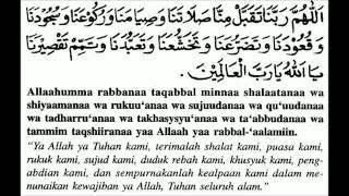 Doa Selepas Solat Fardhu Beserta Maksudnya