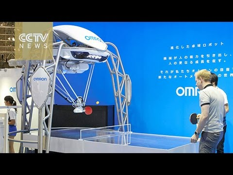 Japan launches world's first robot table tennis tutor