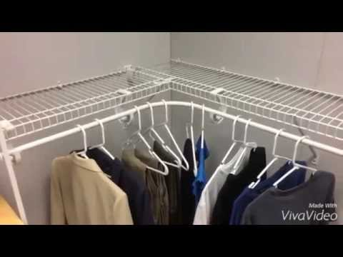 How To Install A Closetmaid Superslide Corner Hang Bar