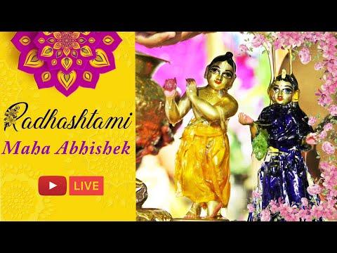 Radhashtami Maha Abhishek