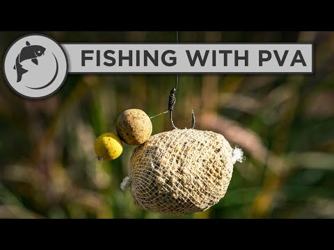 How To Use PVA For Carp Fishing