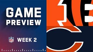 Cincinnati Bengals vs. Chicago Bears   Week 2 NFL Game Preview