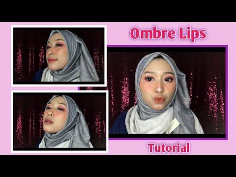 ombre-lips-tutorial-perpaduan-warna-lipstik