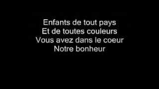 Enrico Macias - Enfants de Tous Pays - Lyrics