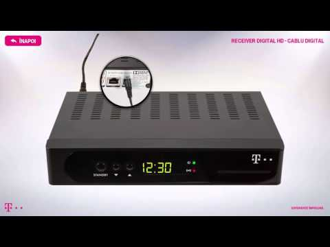 Receiver Digital HD – Cablu digital