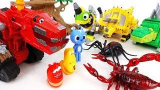Go Go Dinotrux, Jurassic Park Is Under Attack By Monster Bugs - ToyMart TV