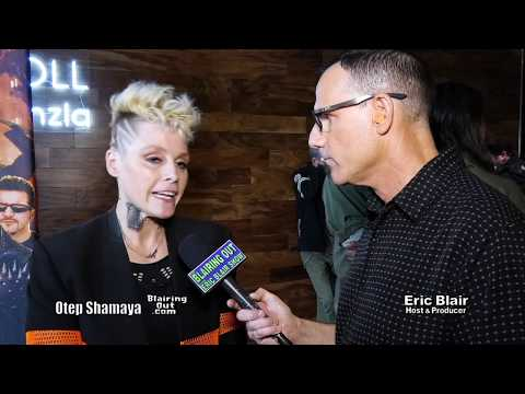 OTEP & ERIC BLAIR @ THE 4TH ANNUAL BOWL FOR RONNIE EVENT 2018
