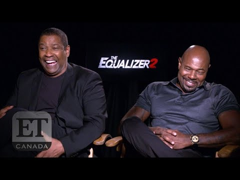 Denzel Washington, Antoine Fuqua Talk 'The Equalizer 2'