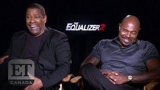 Denzel Washington, Antoine Fuqua Talk 'The Equalizer 2' | EXTENDED