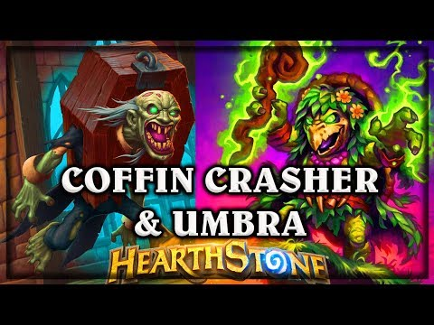 Coffin Crasher & Umbra ~ The Witchwood Hearthstone Heroes of Warcraft