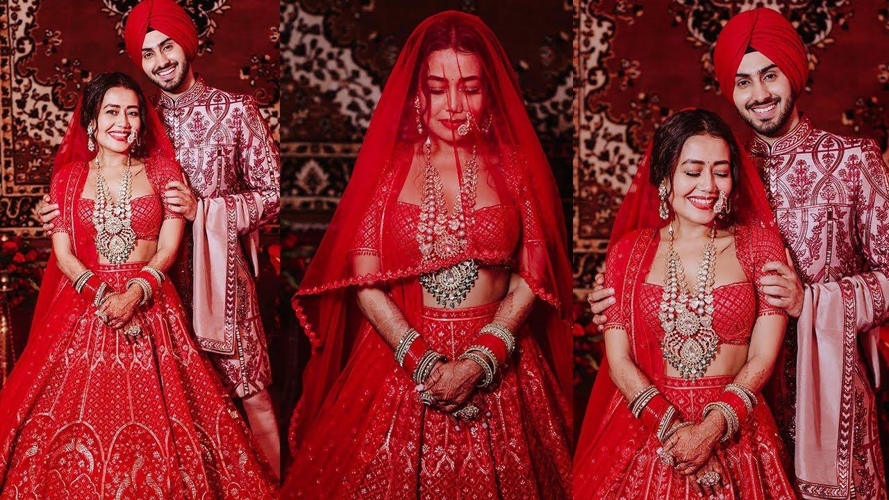 Download Neha Kakkar And Rohanpreet's Wedding | Bollywood and TV Celebs at Neha Kakkar's Wedding Reception