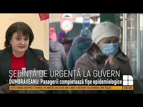 Coronavirus în Moldova. Ședință De Urgență La Guvern