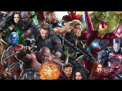Marvel Superheroes (Avengers-XMen-Fantastic 4-Spiderman) epic mash up trailer