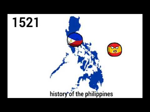 Philippines History Under 40 Seconds |CountryBalls