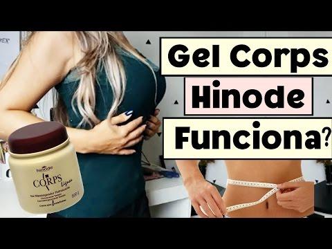 Gel Corps Hinode funciona? Afina a cintura? Queima gordura?