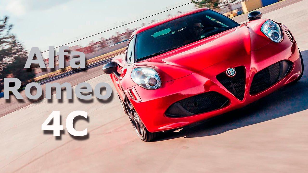 Alfa Romeo 4c Belleza Italiana Muy Deportiva Autocosmos