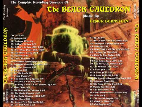 The Black Cauldron Soundtrack - Into The Forest