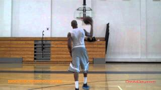 Paul George Jab-Thru-Behind, Spin Move Left Hand Floater Pt. 1 | Dre Baldwin