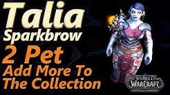 Talia Sparkbrow WoW 2 Pet Leveling Strategy Pet Battle World Quest Add More To The Collection