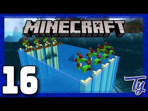 Minecraft 1.12 Survival - Deep Ocean Water Removal! - Ep16