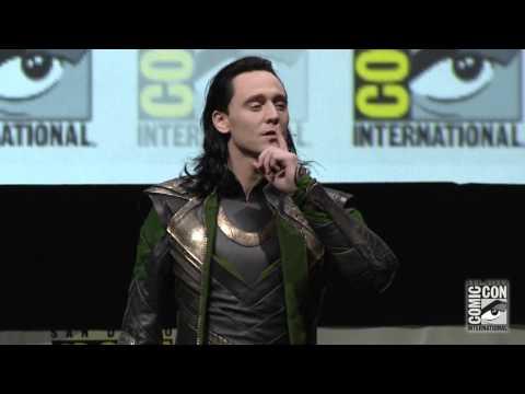 Thor: The Dark World Panel B-Roll footage SDCC2013