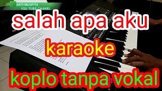 Salah Apa Aku Entah Yang Merasukimu Karaoke