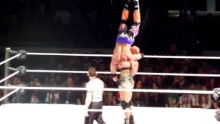 Ryback Delayed Vertical Suplex in Toronto!