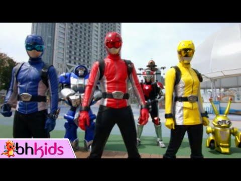 Phim Siêu Nhân Đặc Mệnh Tập 13 : Kết Hợp Robot (Siêu Nhân Lồng Tiếng Việt)