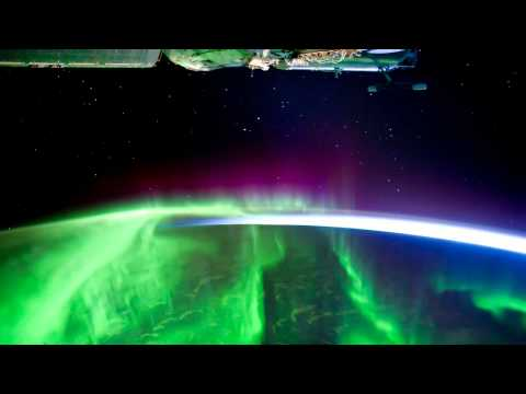 NASA ISS : Aurora Australis from space