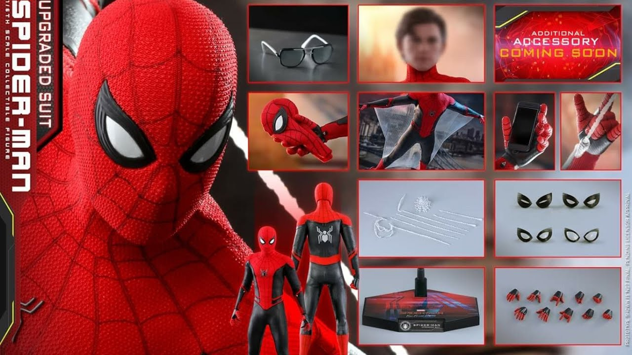 Prototype Hot Toys Spiderman Far From Home Youtube