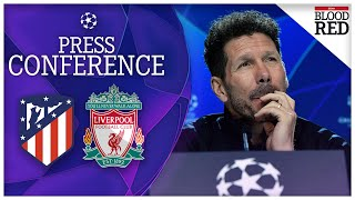 'Liverpool will go down in history' | Diego Simeone, Jan Oblak | Atletico Madrid v Liverpool