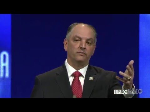 Student Asks John Bel Edwards about TOPS Program