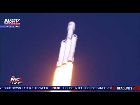 Στιγμή που θα μείνει στην ιστορία- Ο Ελον Μασκ εκτόξευσε στο διάστημα τον ισχυρότερο πύραυλο στον κόσμο