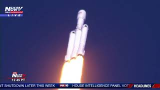 WATCH: SpaceX Launches Falcon Heavy For The First Time (FNN)