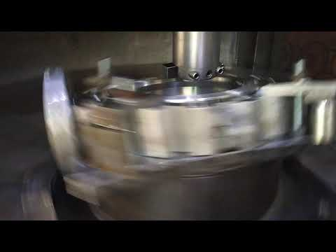 Triple Offset Machining Of Butterfly Type Control Valve Class V