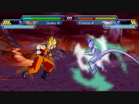 Dragonball Z Shin Budokai Another Road Goku vs Frieza