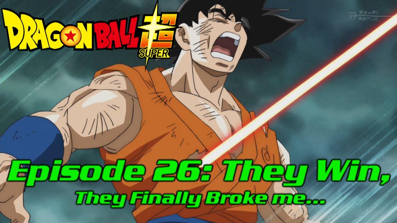 dragon ball super episode 26 review youtube