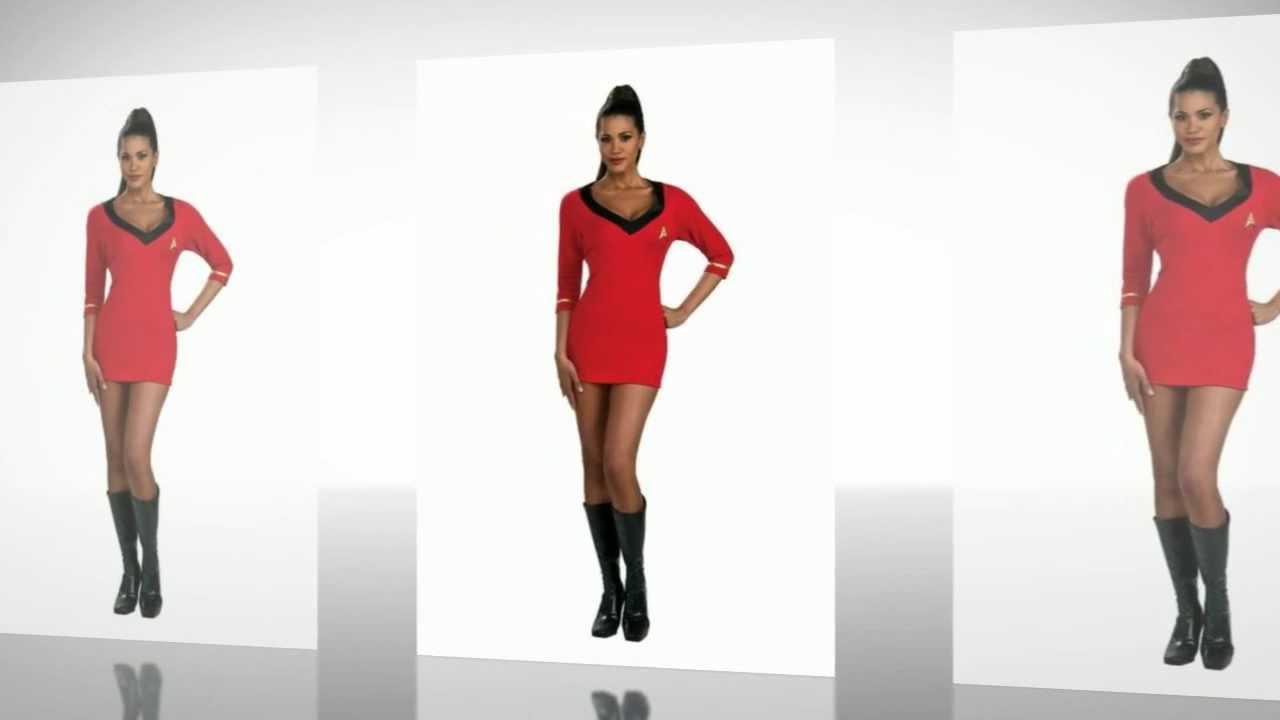 sc 1 st  YouTube & Star Trek Sexy Uhura Costume - YouTube