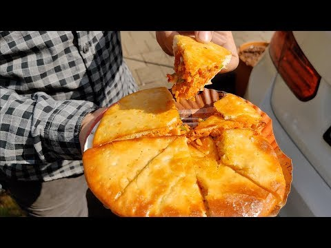 Famous Ulta Pizza of Mumbai | Reverse Pizza | Indian Street Food