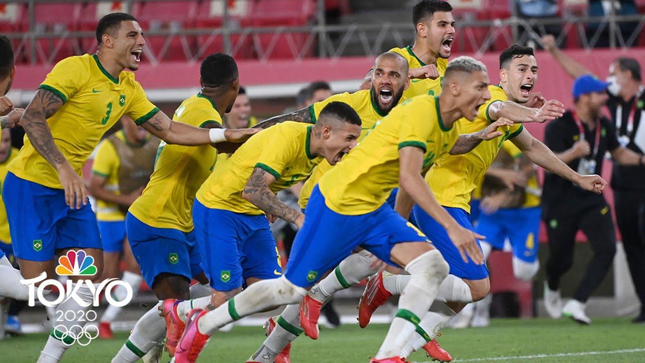 Download Mexico vs. Brazil   Tokyo Olympics 2020: Men's Soccer Semifinal Highlights   NBC Sports