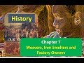 Chapter 7 Weavers, Iron Smelters and Factory Owners CLASS 8 History NCERT