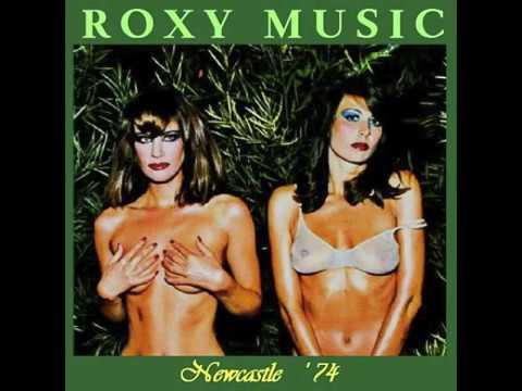 ROXY MUSIC  – Newcastle City Hall – 28 October 1974