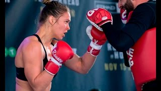 UFC 193: Ronda Rousey Open Workout Session (Complete)