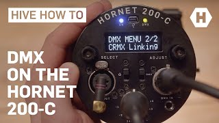 Using DMX with the Hornet 200-C